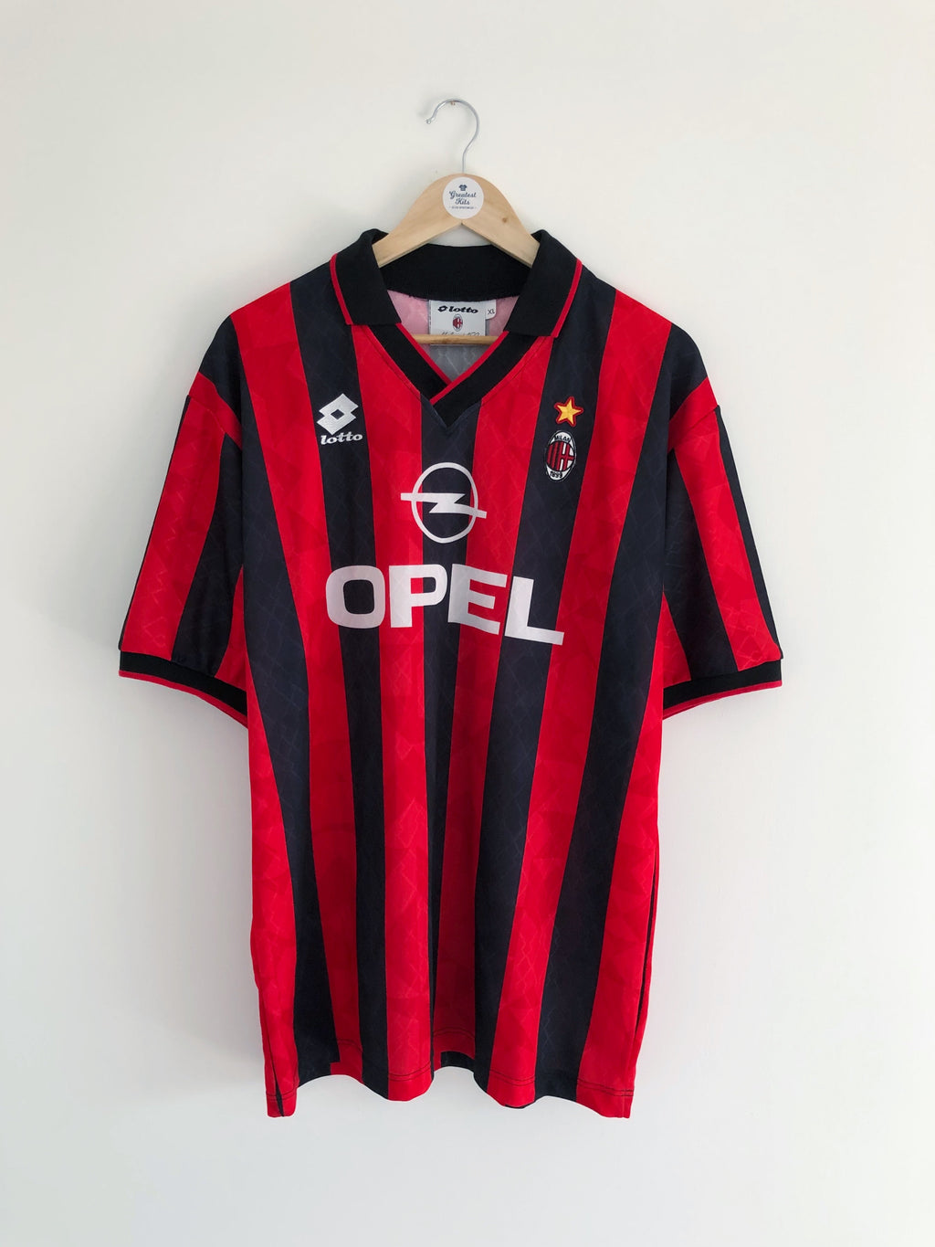 1994/95 AC Milan Home Shirt (XL) 9/10