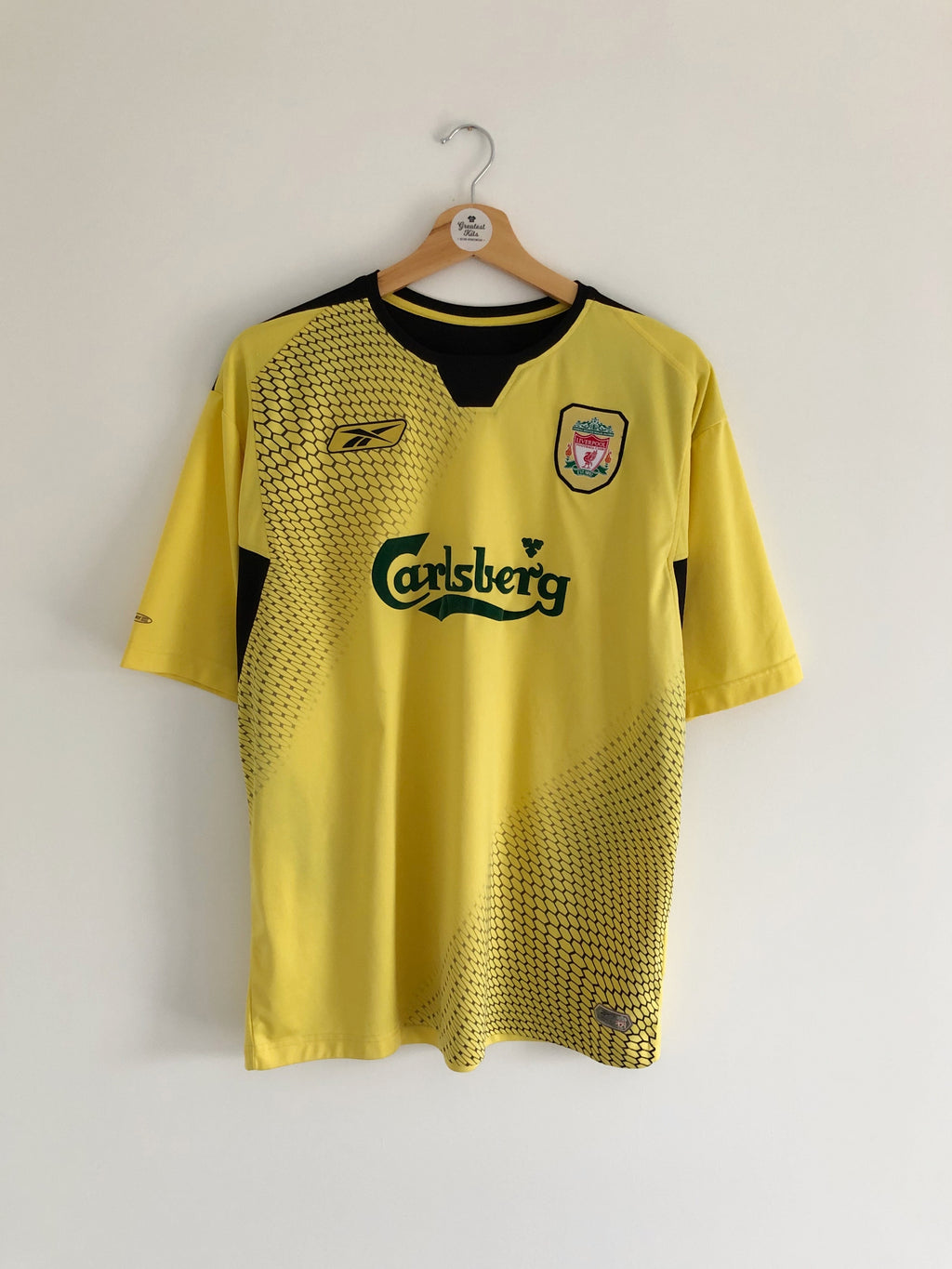 2004/06 Liverpool Away Shirt (L) 8/10