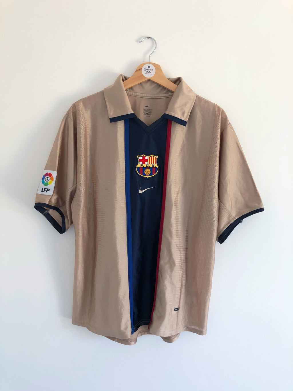 2001/03 Barcelona Away Shirt (M) 9/10