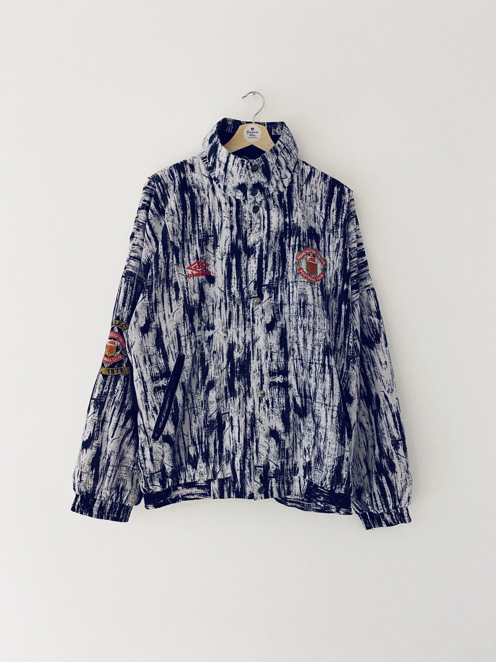 1992/93 Manchester United Presentation Jacket (L) 9.5/10