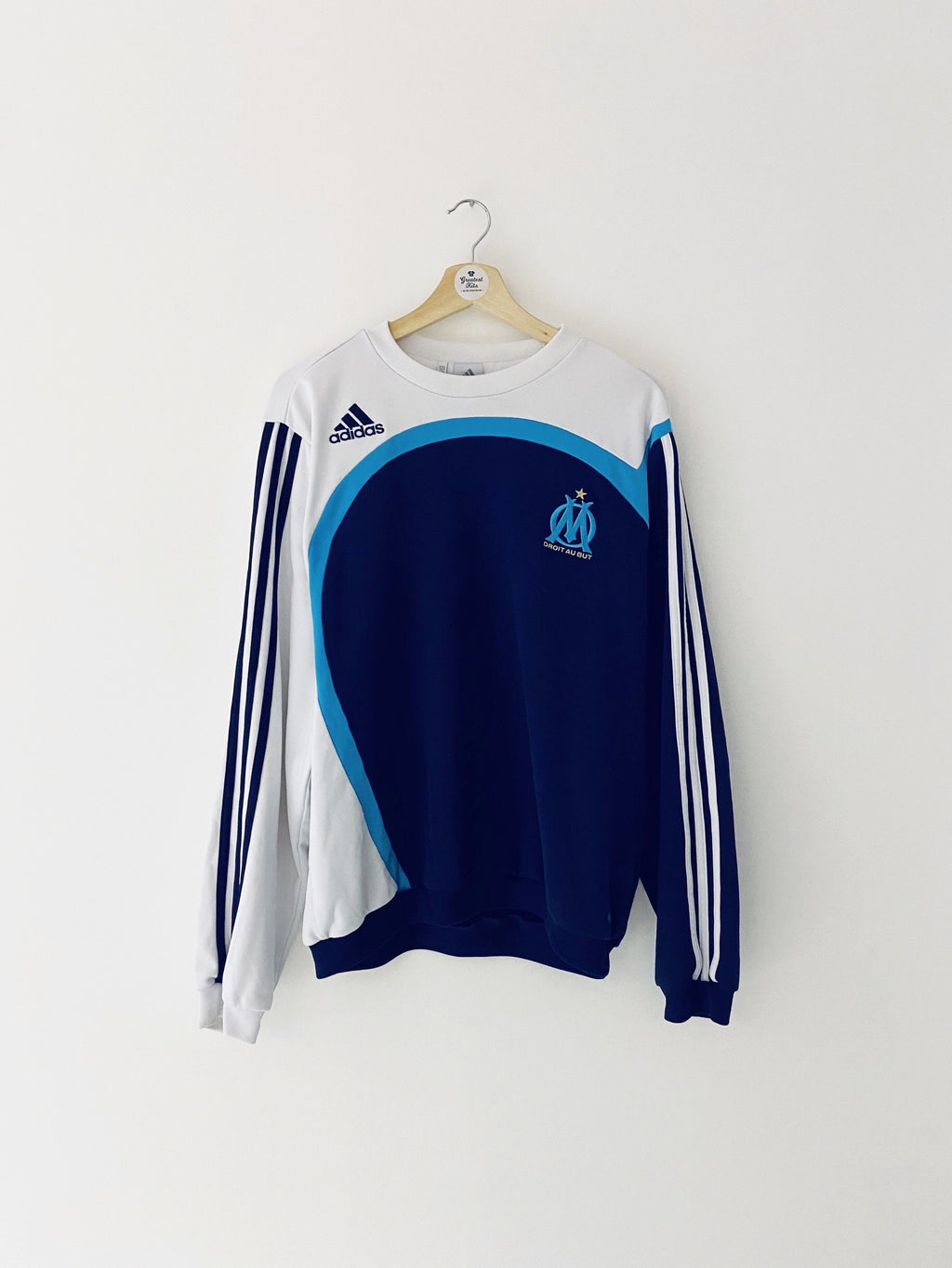 2007/08 Olympique Marseille Training Top (M/L) 8/10