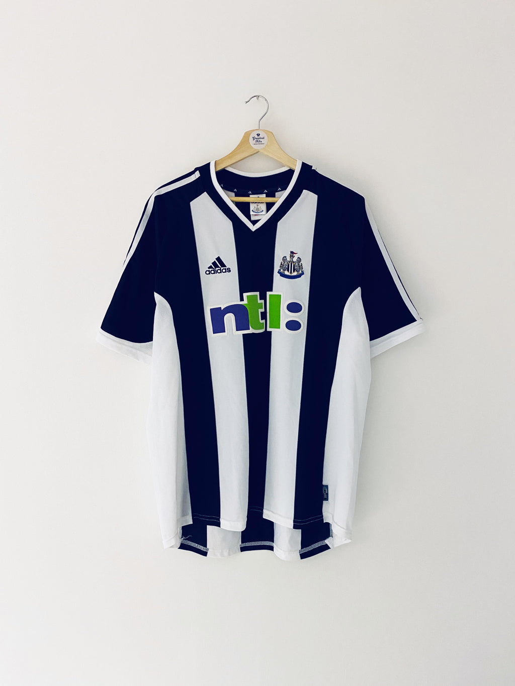 2001/03 Newcastle Home Shirt (L) 9/10