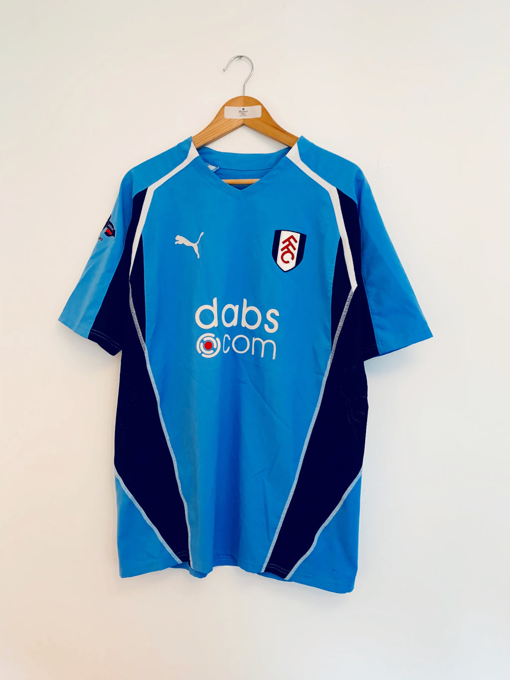 2004/05 Fulham '125 Years' Away Shirt (L) 9.5/10