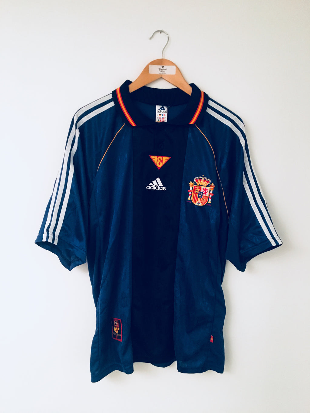 1998/99 Spain Away Shirt *MINT* (XL)