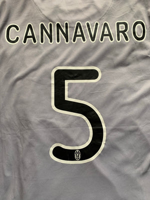 2009/10 Juventus Away Shirt Cannavaro #5 (XL) 8/10