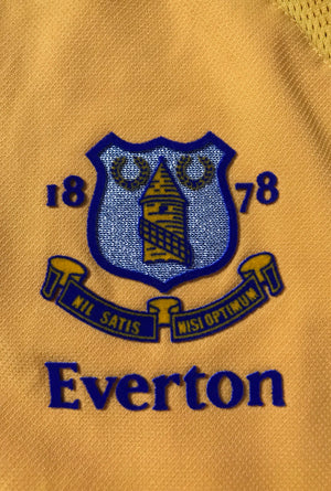 2003/04 Everton Away L/S Shirt Ferguson #9 (L)