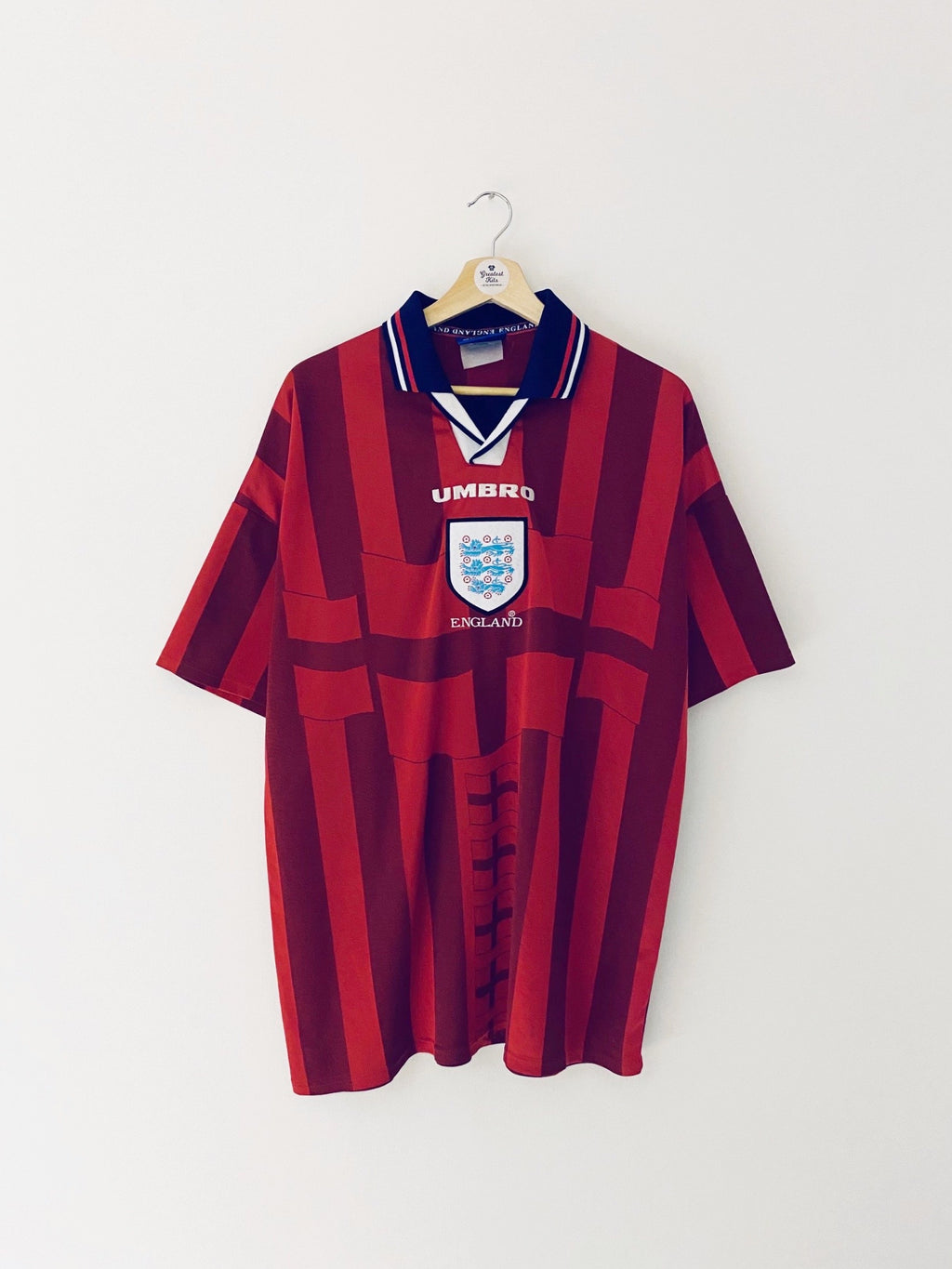 1997/99 England Away Shirt (XL) 8.5/10
