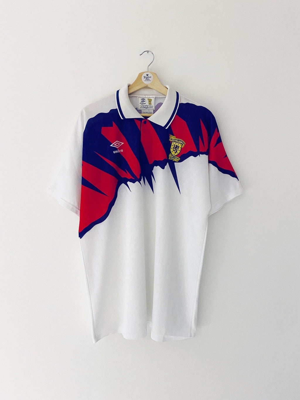 1991/93 Scotland Away Shirt (L) 9/10