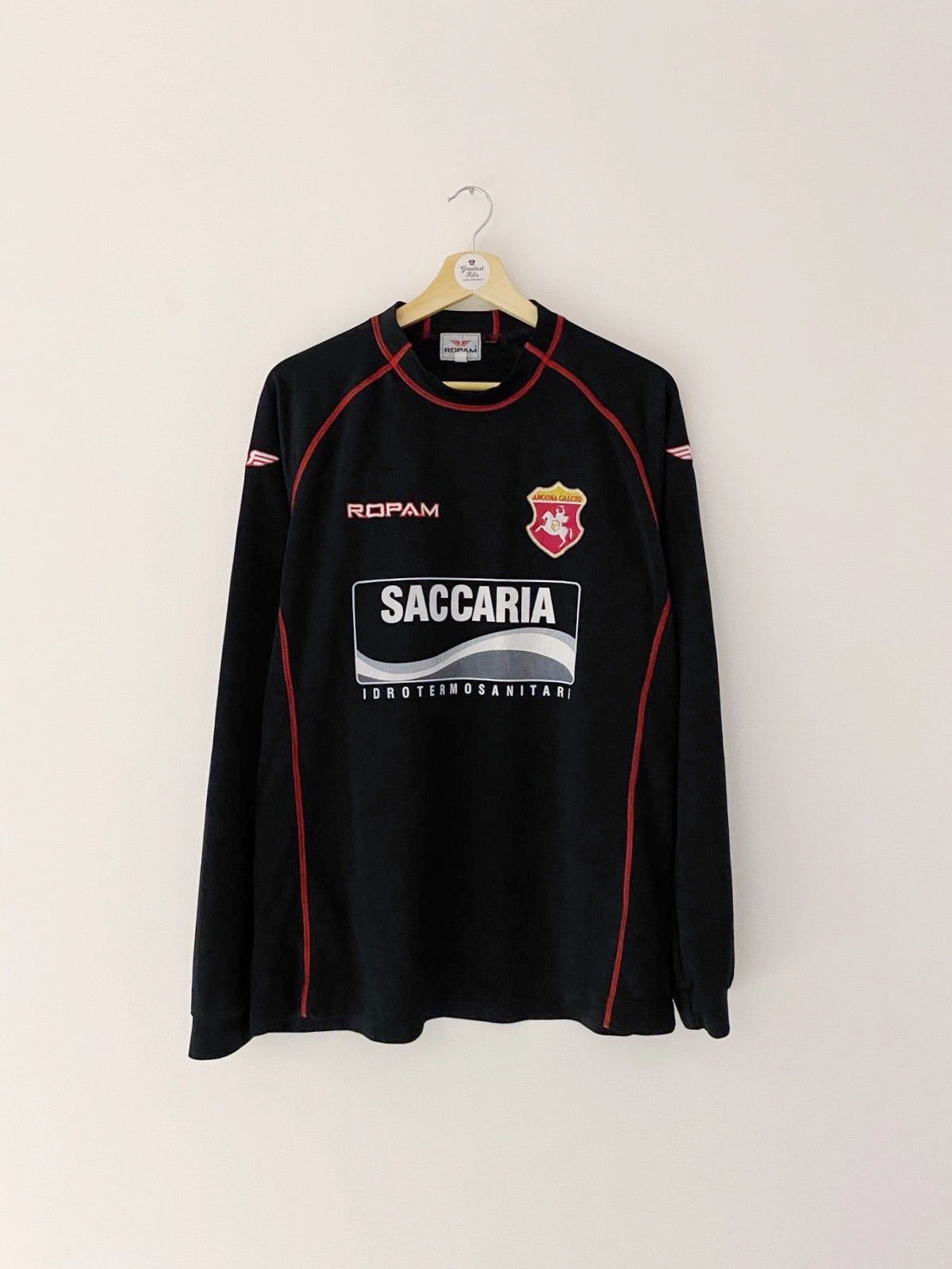 2001/02 Ancona *Player Issue* GK Shirt #12 (XL) 9/10