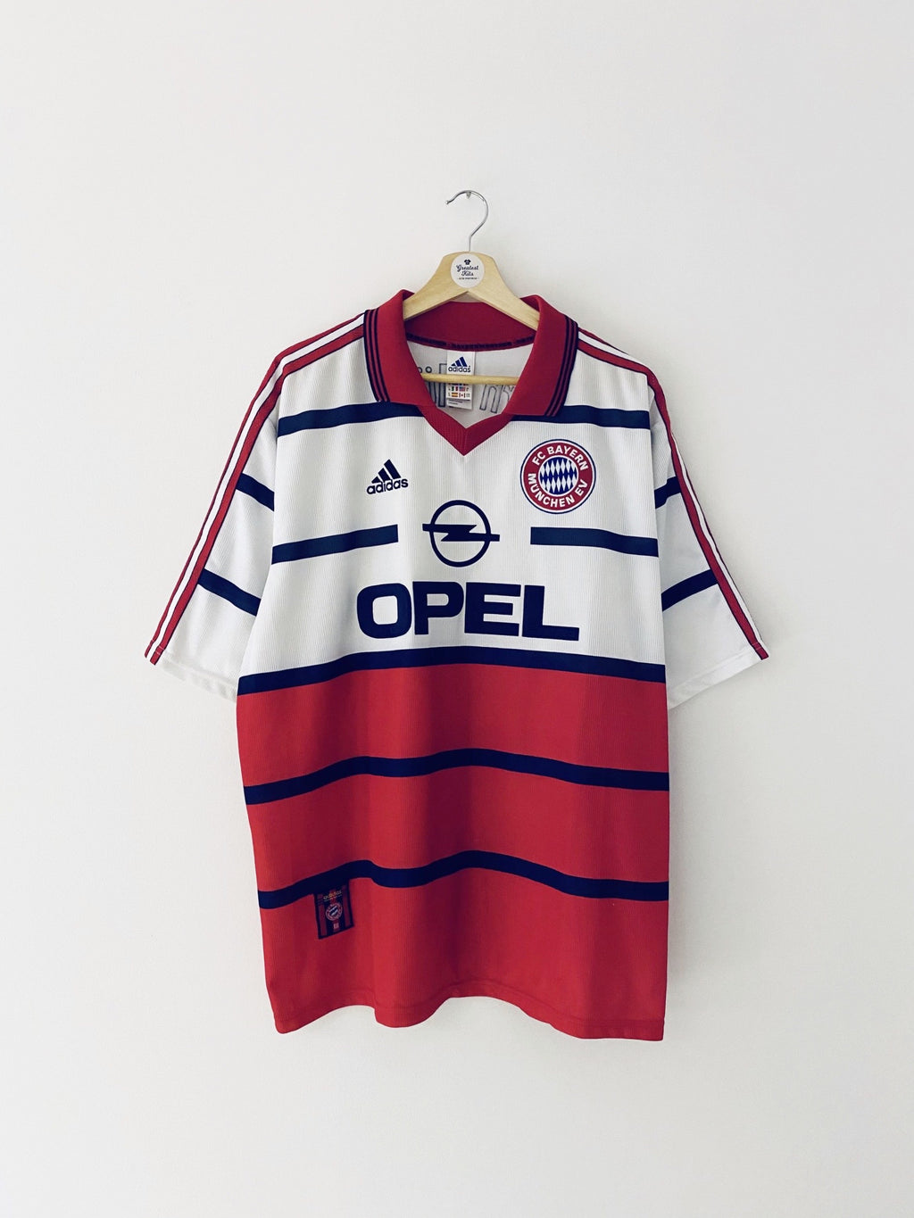 1998/00 Bayern Munich Away Shirt (XL) 9/10