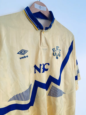 1990/92 Everton Away Shirt (XL) 9/10
