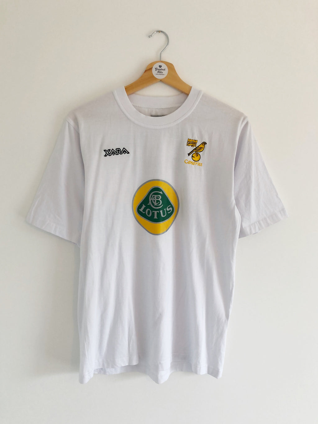 2003/04 Norwich Training T-Shirt (S) 8.5/10