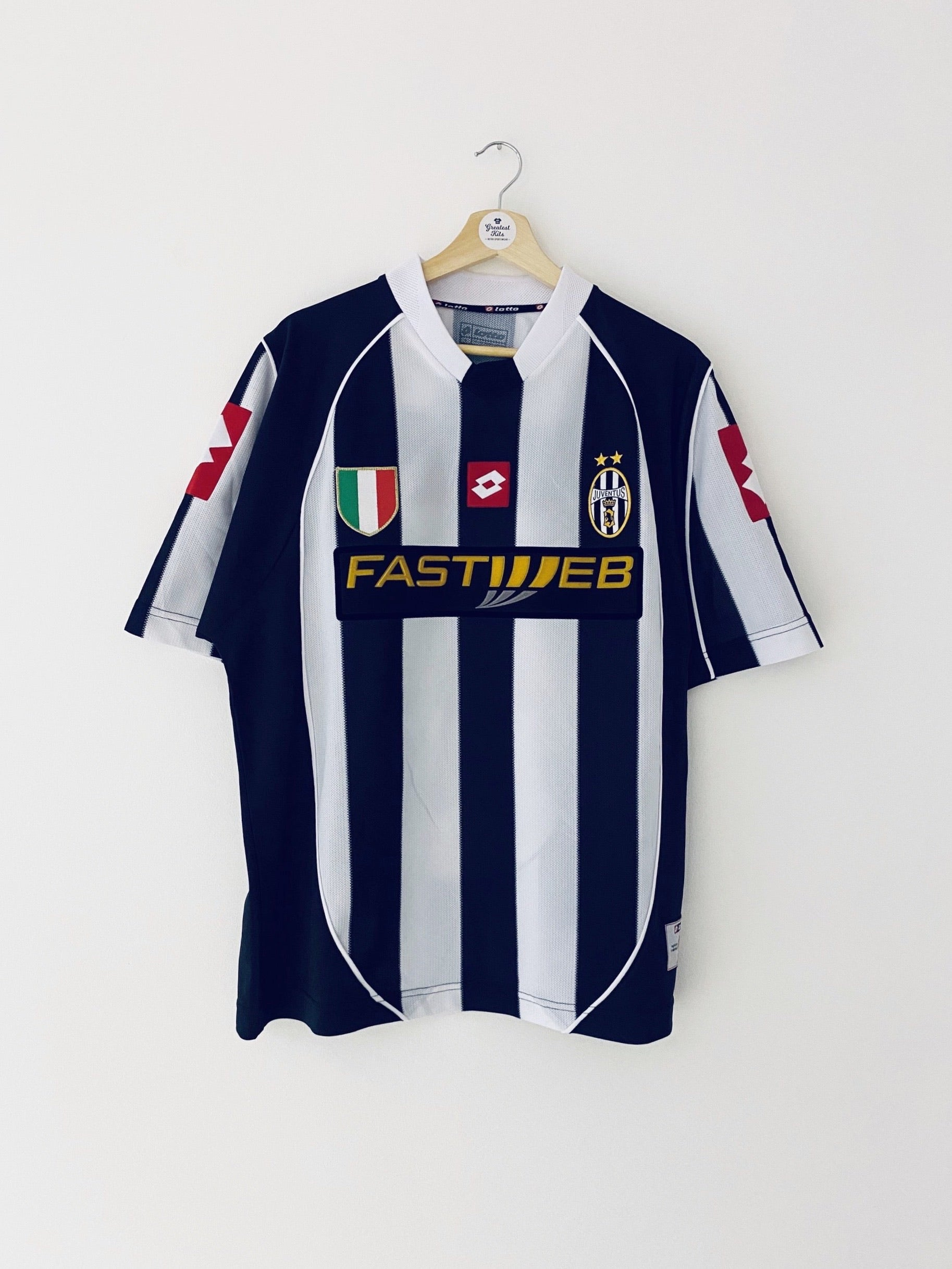 2002/03 Juventus Home Shirt Del Piero #10 (L) 7.5/10