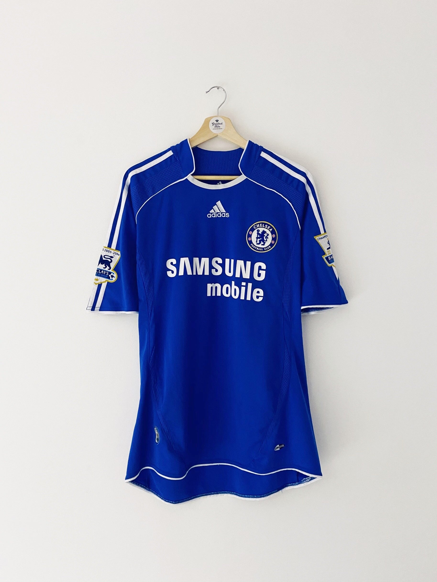 2006/07 Chelsea Home Shirt Drogba #11 (XL) 8.5/10