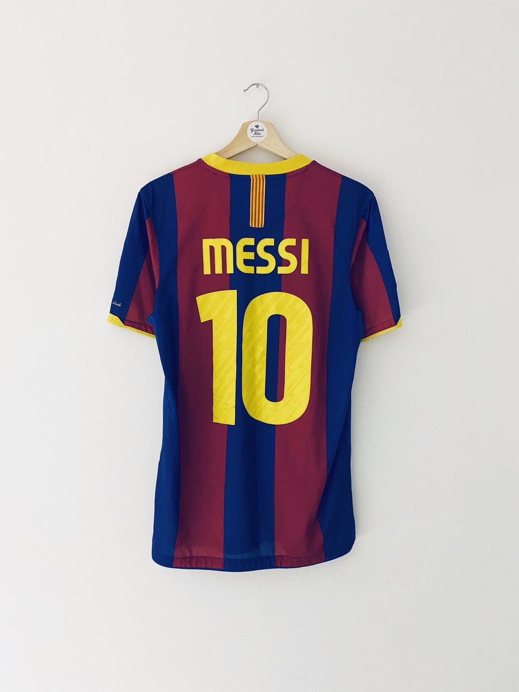 2010/11 Barcelona Home Shirt Messi #10 (S) 8.5/10