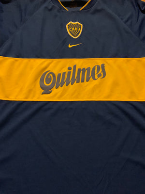 2001 Boca Juniors Home Shirt (XXL) 9/10