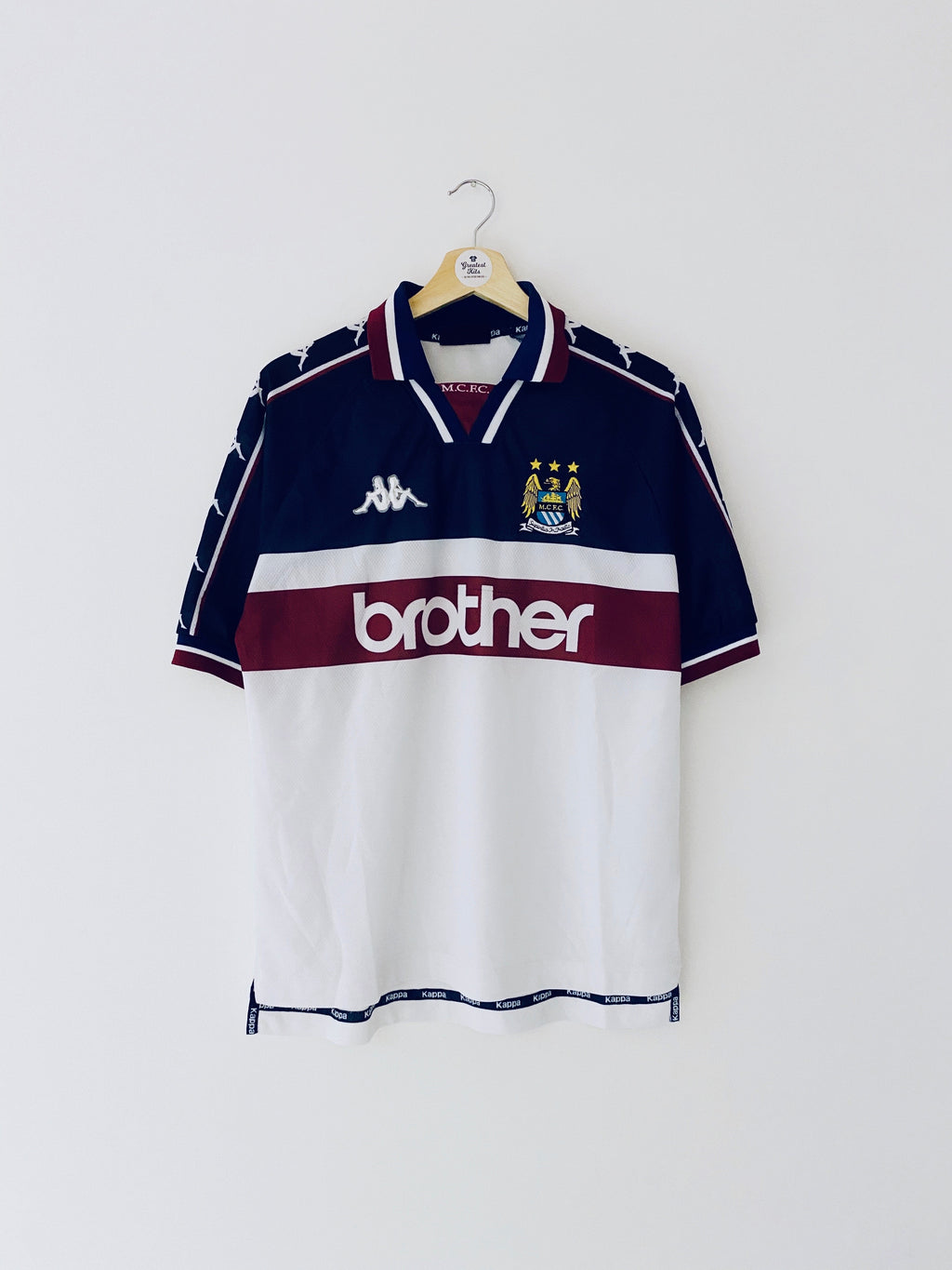 1997/98 Manchester City Away Shirt (M) 8/10