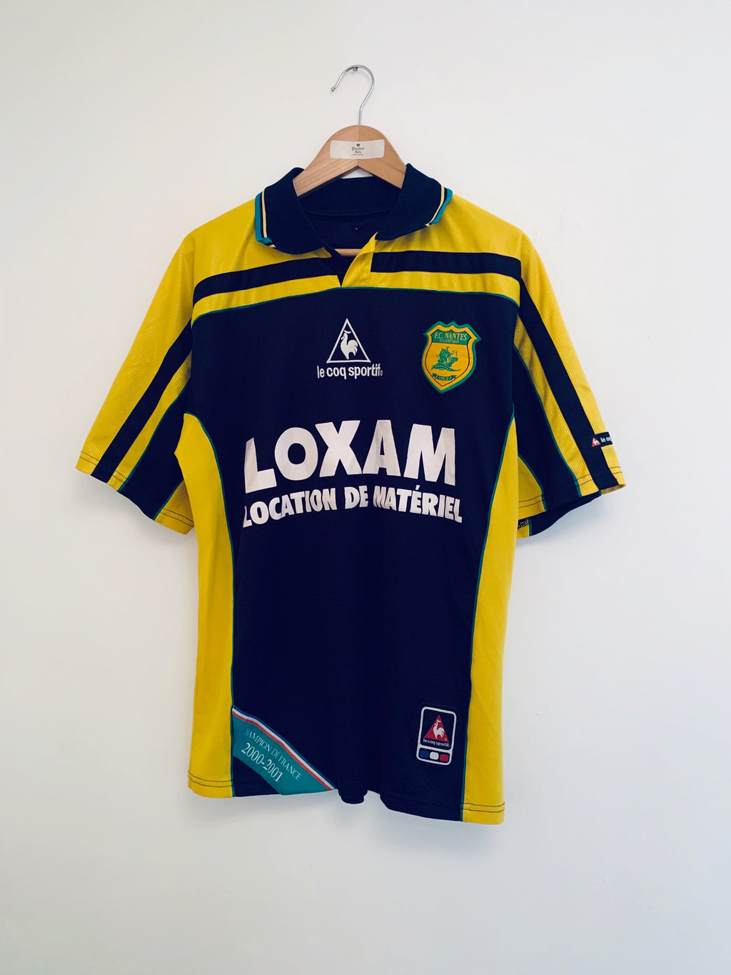 2001/02 Nantes Away Shirt (M) 7.5/10