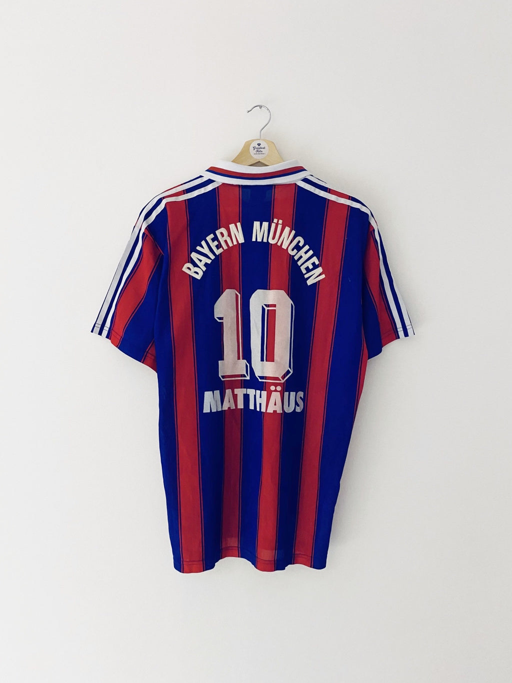 1995/97 Bayern Munich Home Shirt Matthaus #10 (L) 8/10