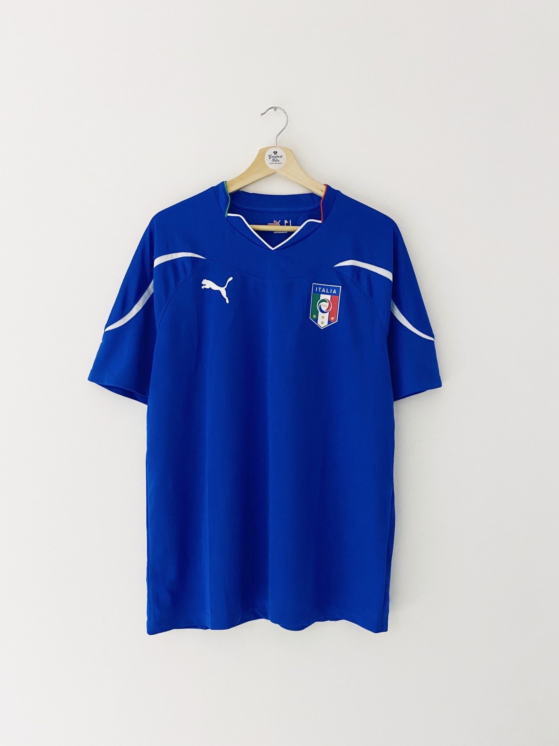2010/12 Italy Basic Home Shirt (L) 9/10