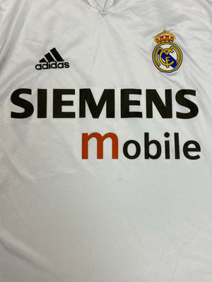 2004/05 Real Madrid Home Shirt (M) 6.5/10