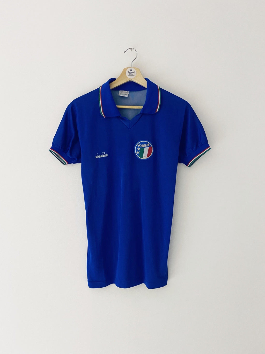 1986/90 Italy Home Shirt (S) 5.5/10