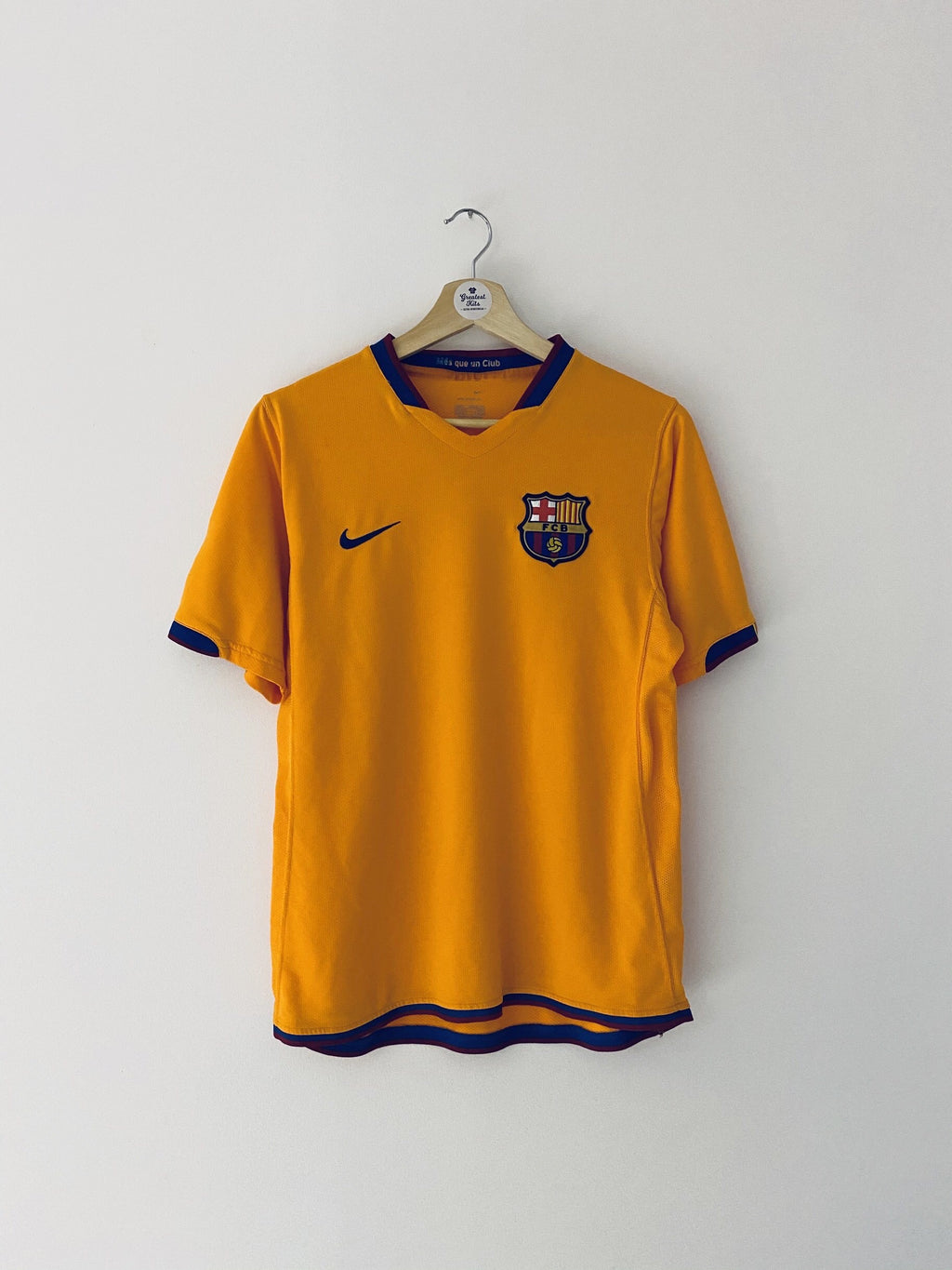 2006/08 Barcelona Away Shirt (S) 9/10