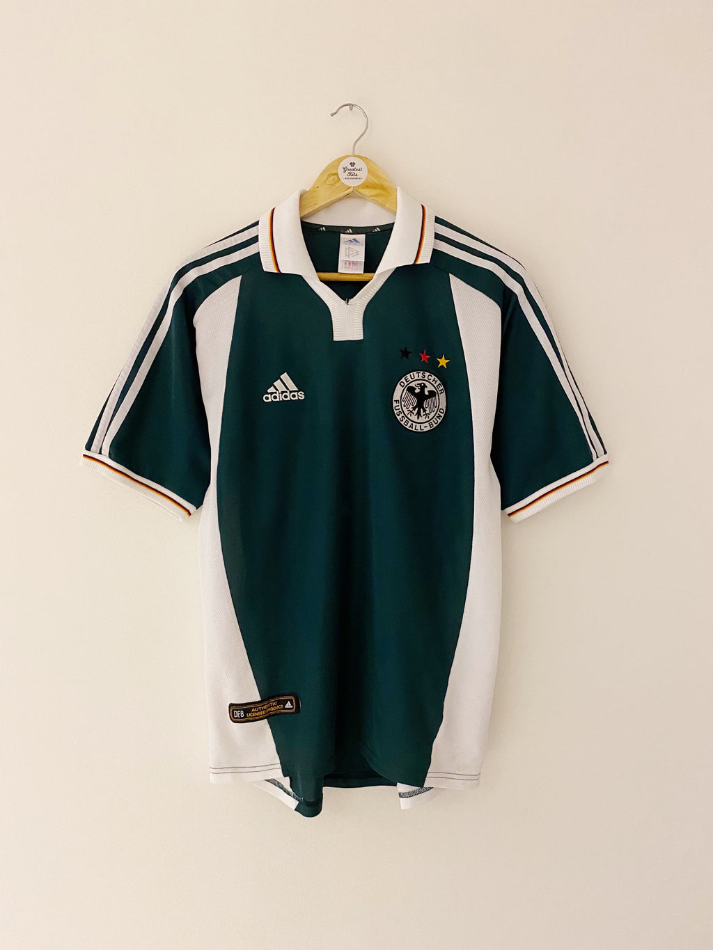 2000/02 Germany Away Shirt (S) 8/10