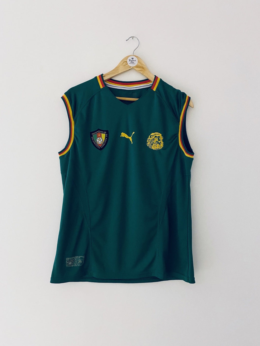 2002 Cameroon Home Vest (M) 5.5/10