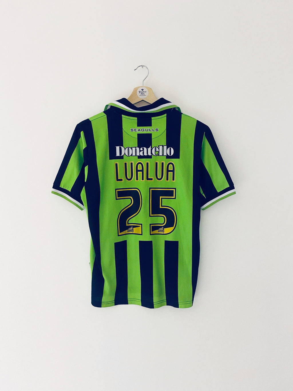 2011/13 Brighton Away Shirt LuaLua #25 (M) 6/10