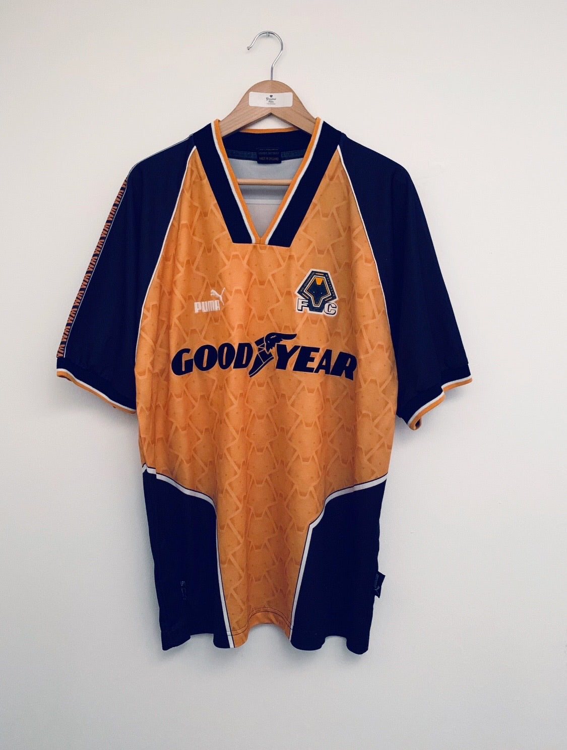 1996/98 Wolves Home Shirt (L) 9/10