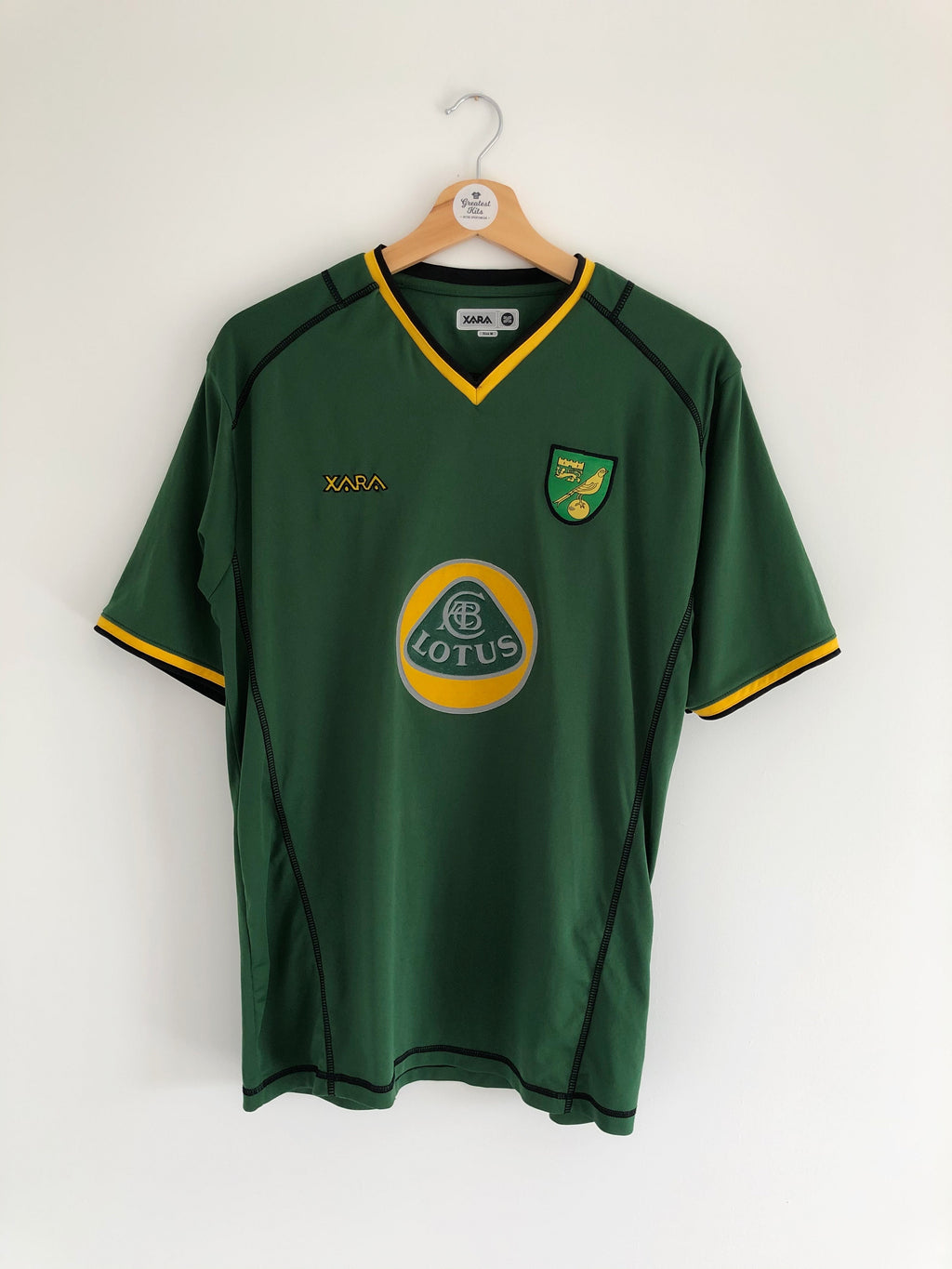 2003/04 Norwich Away Shirt (M) 9/10