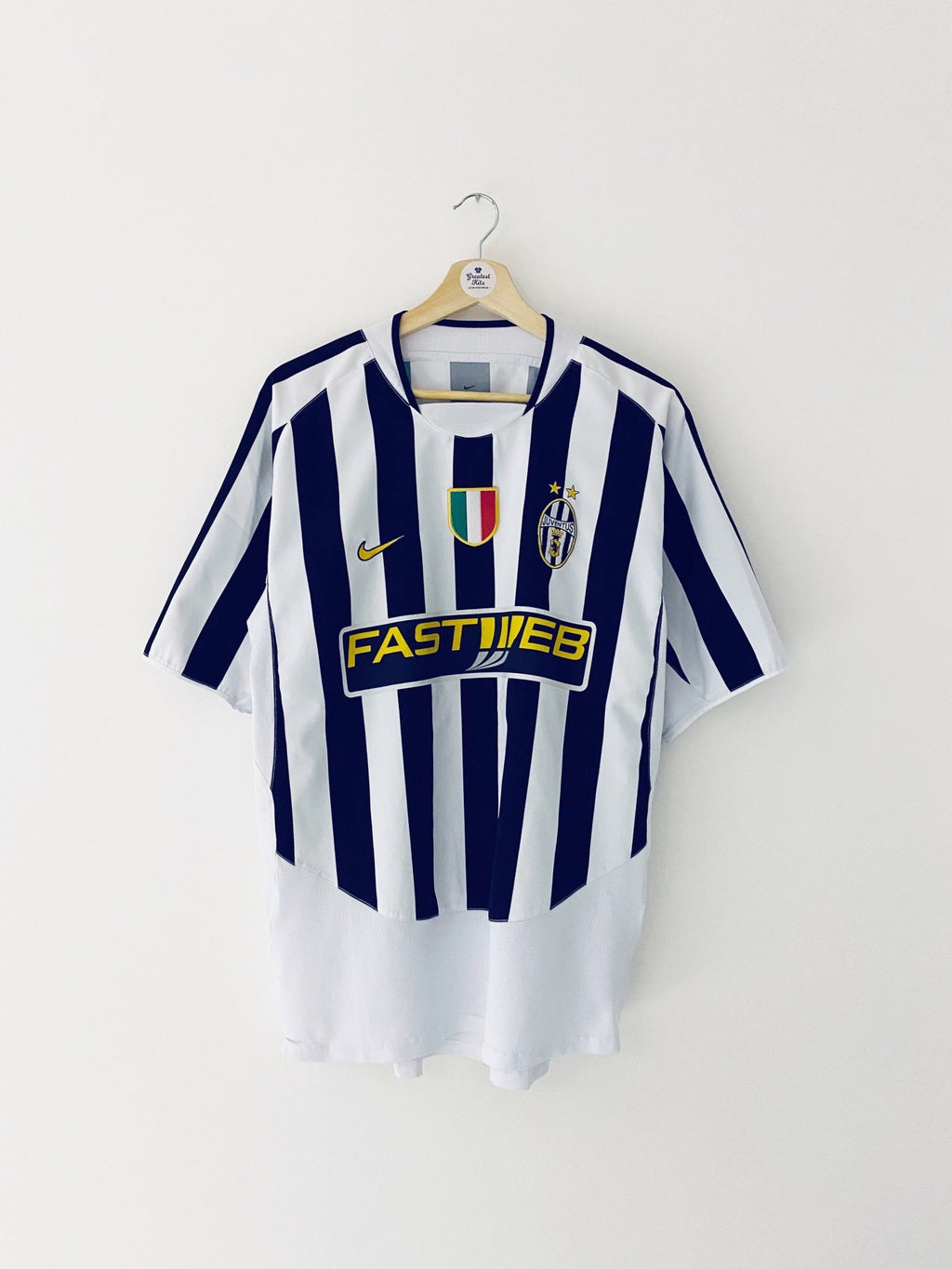 2003/04 Juventus Home Shirt (L) 8/10