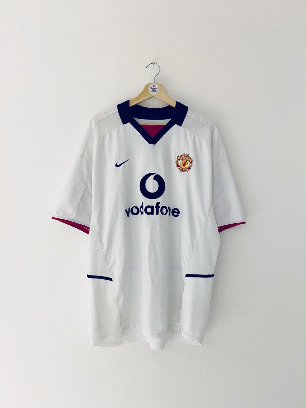 2002/03 Manchester United Away Shirt (XL) 8.5/10