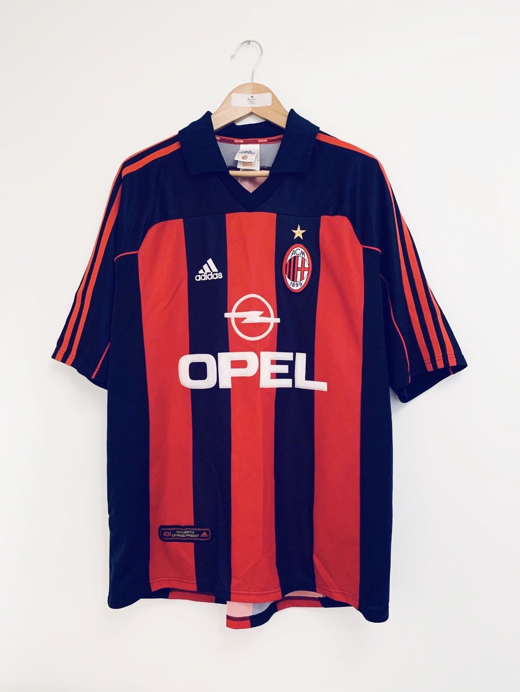 2000/02 AC Milan Home Shirt (XL) 9/10