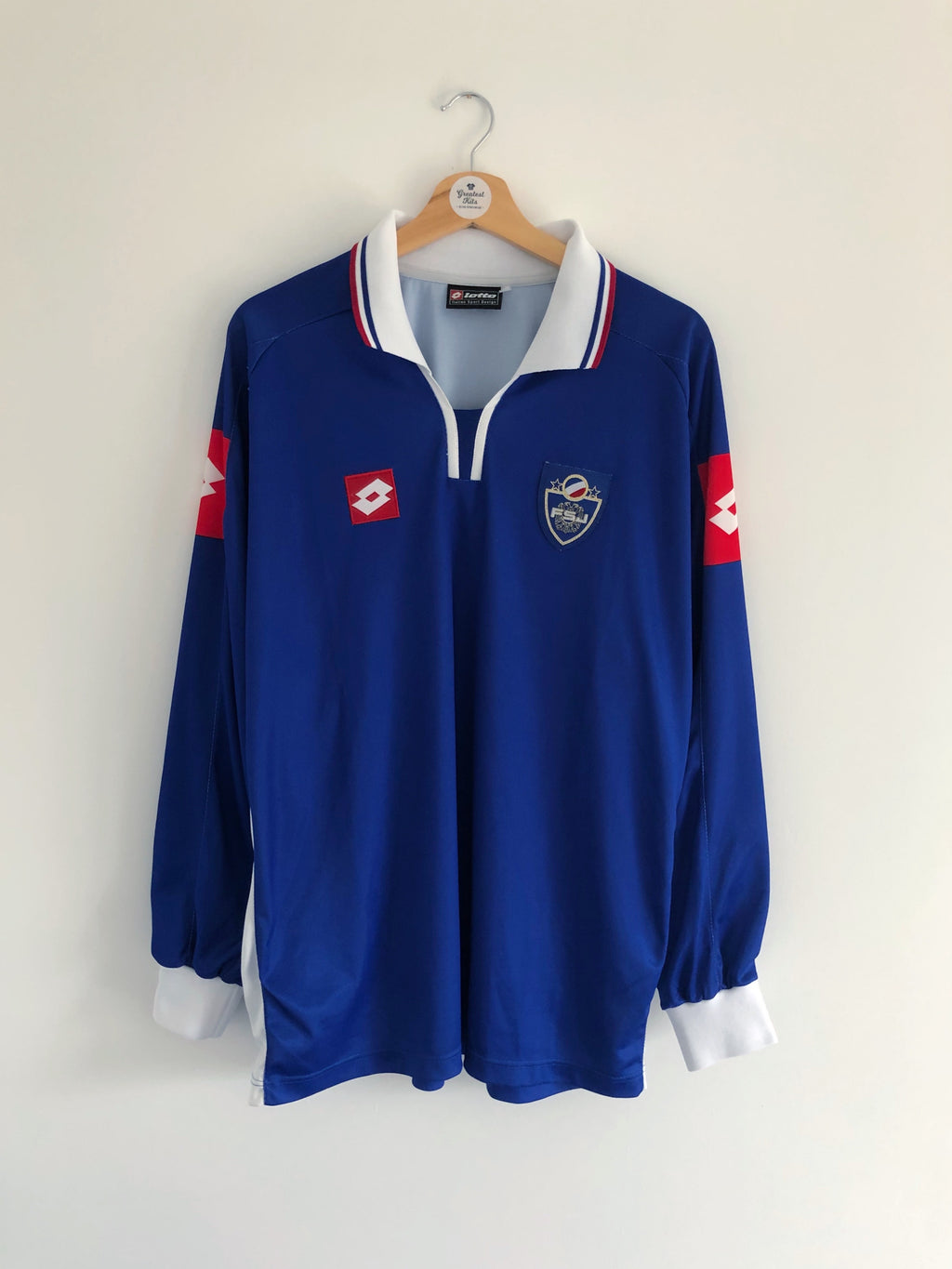 2002/03 Yugoslavia Home L/S Shirt (XL) 9/10