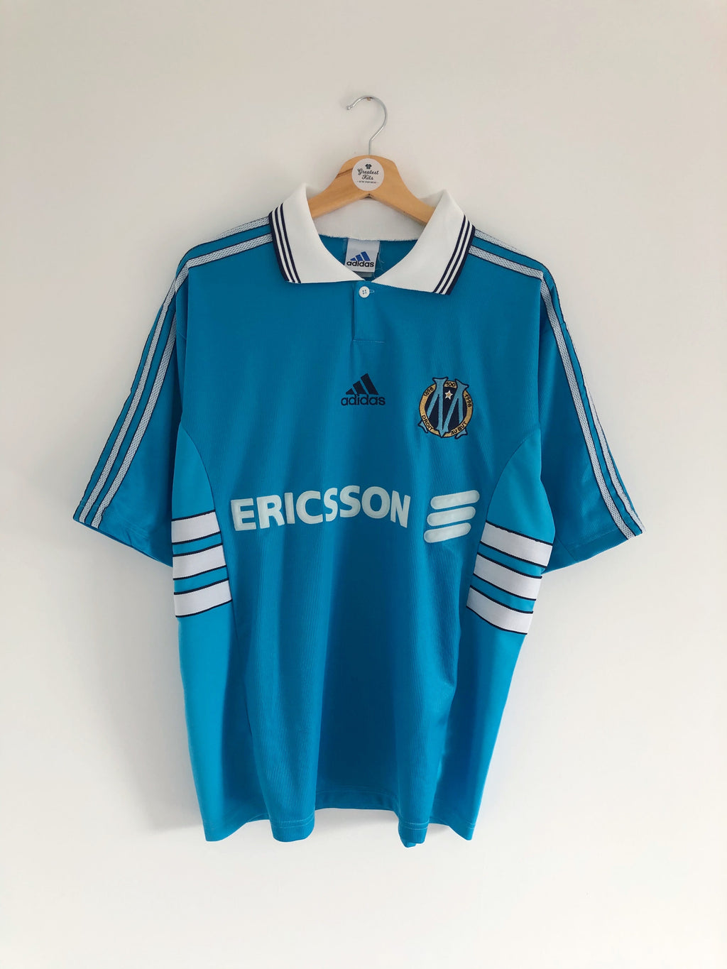 1998/99 Olympique Marseille Away Centenary Shirt (L) 8.5/10