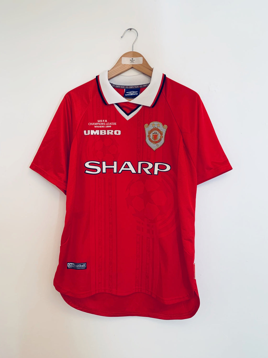 1999/00 Manchester United 'CL Winners' Shirt (M) 9/10