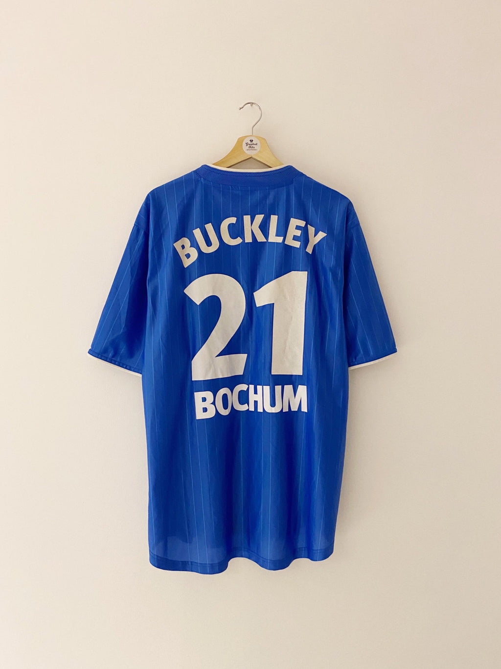 2002/03 VfL Bochum Home Shirt Buckley #21 (XL) 9/10