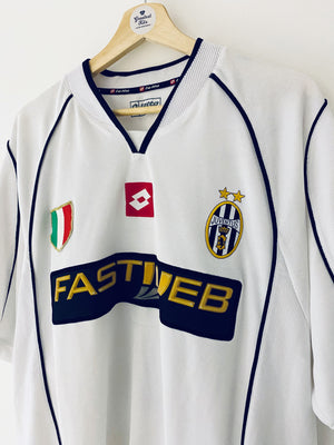 2002/03 Juventus Away Shirt Nedved #11 (XL) 5/10