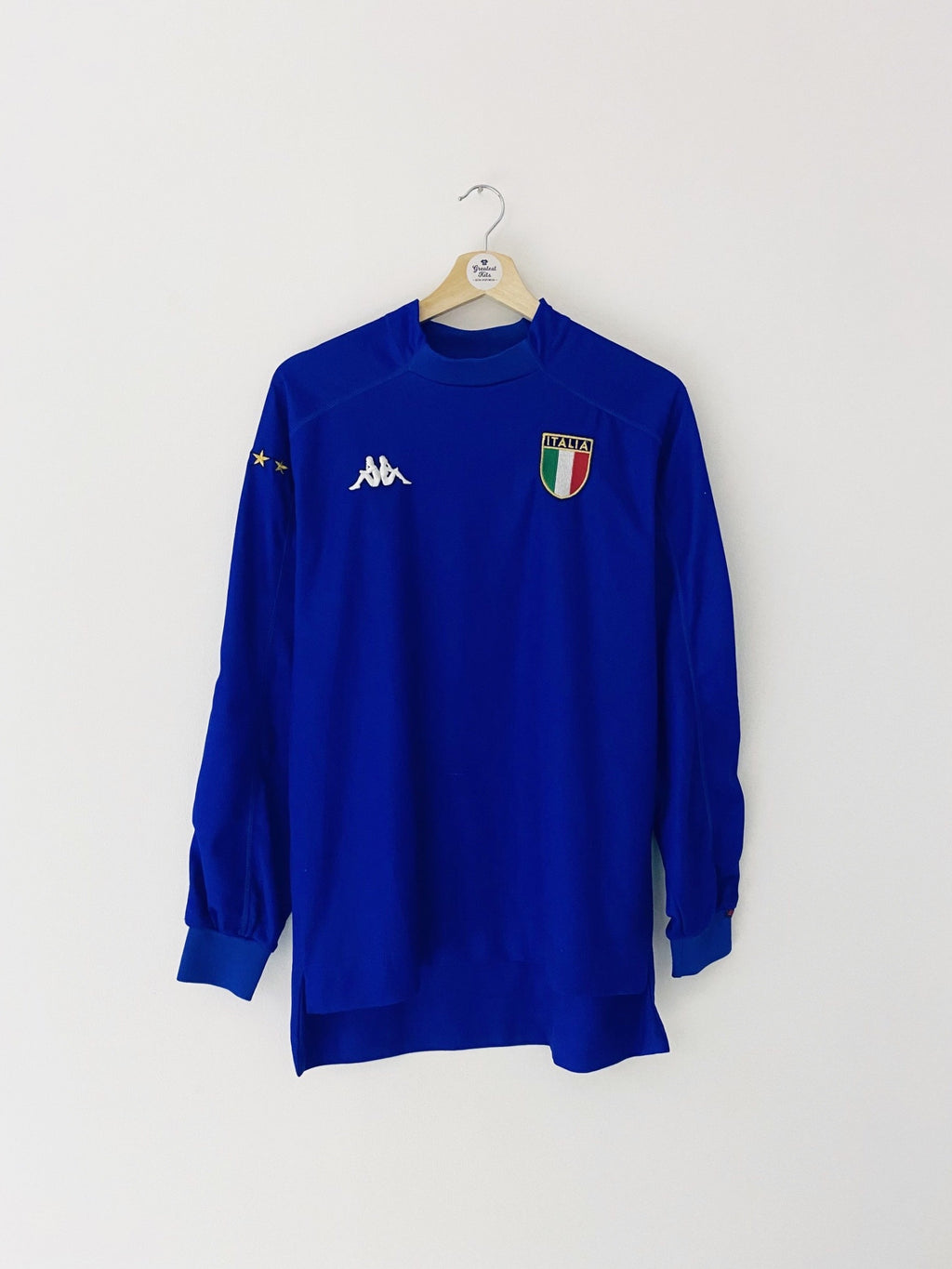 1998/99 Italy Home L/S Shirt (S) 7.5/10