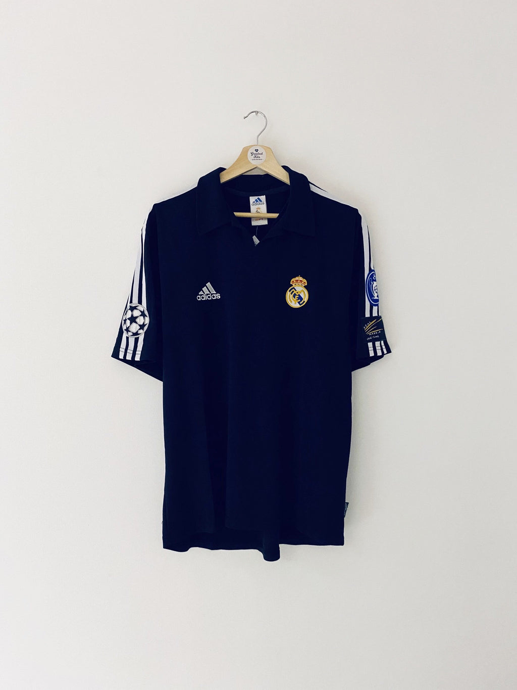 2001/02 Real Madrid Away CL Centenary Shirt (M) 5/10