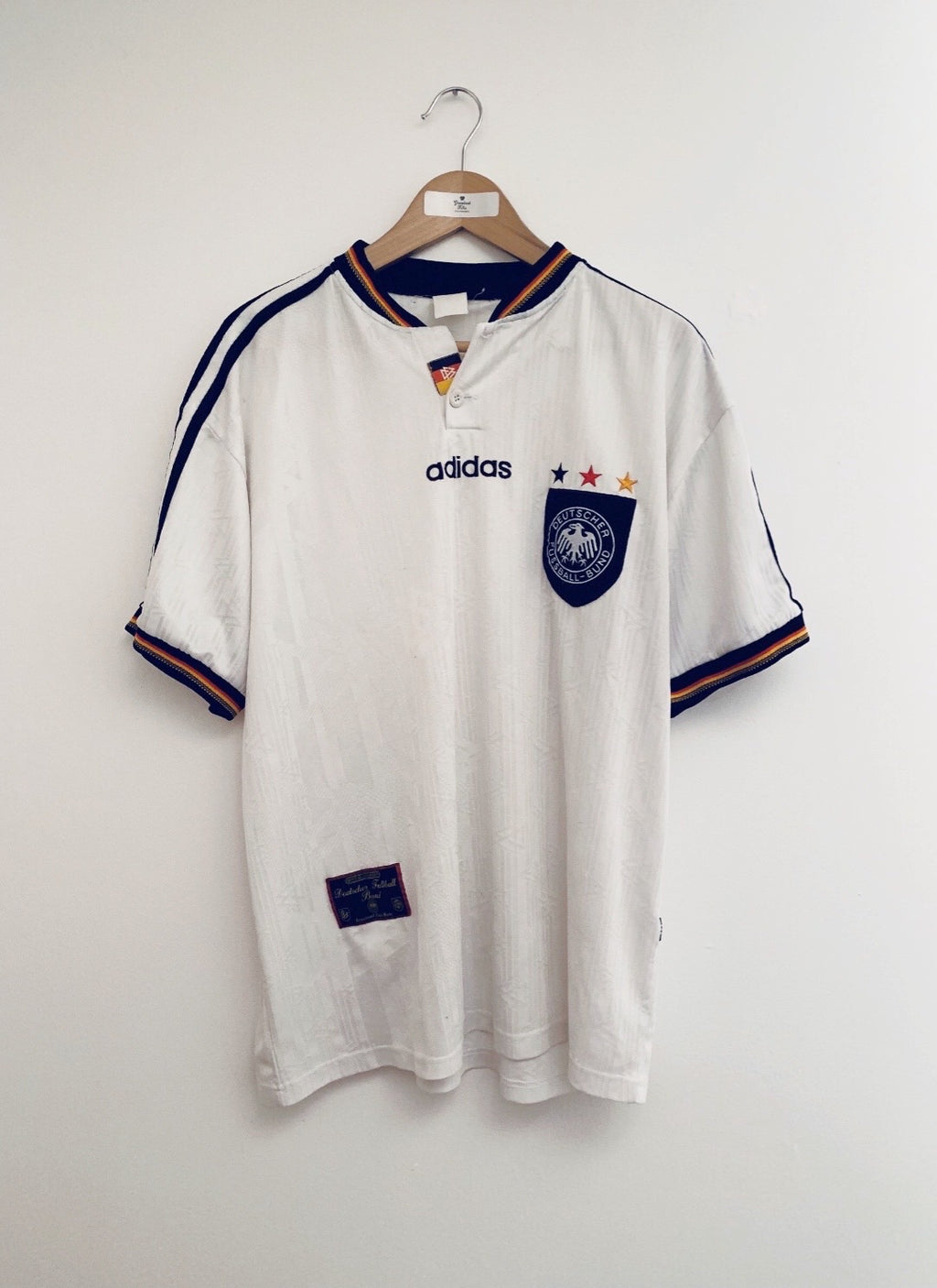 1996/98 Germany Home Shirt (XL) 6/10