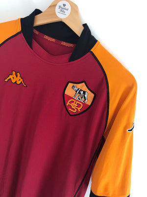 2002/03 Roma CL Home Shirt (XL) 8/10