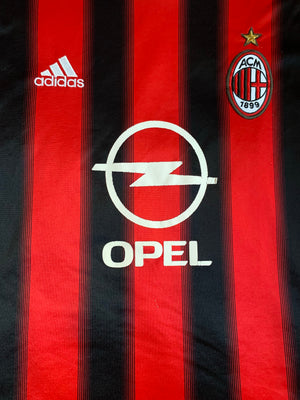 2004/05 AC Milan Home Shirt (XL) 7.5/10