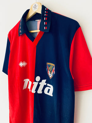 1991/92 Genoa Home Shirt (M) 8.5/10