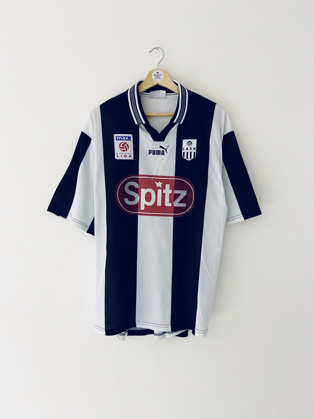 1999/00 LASK Linz Home Shirt (L) 9/10