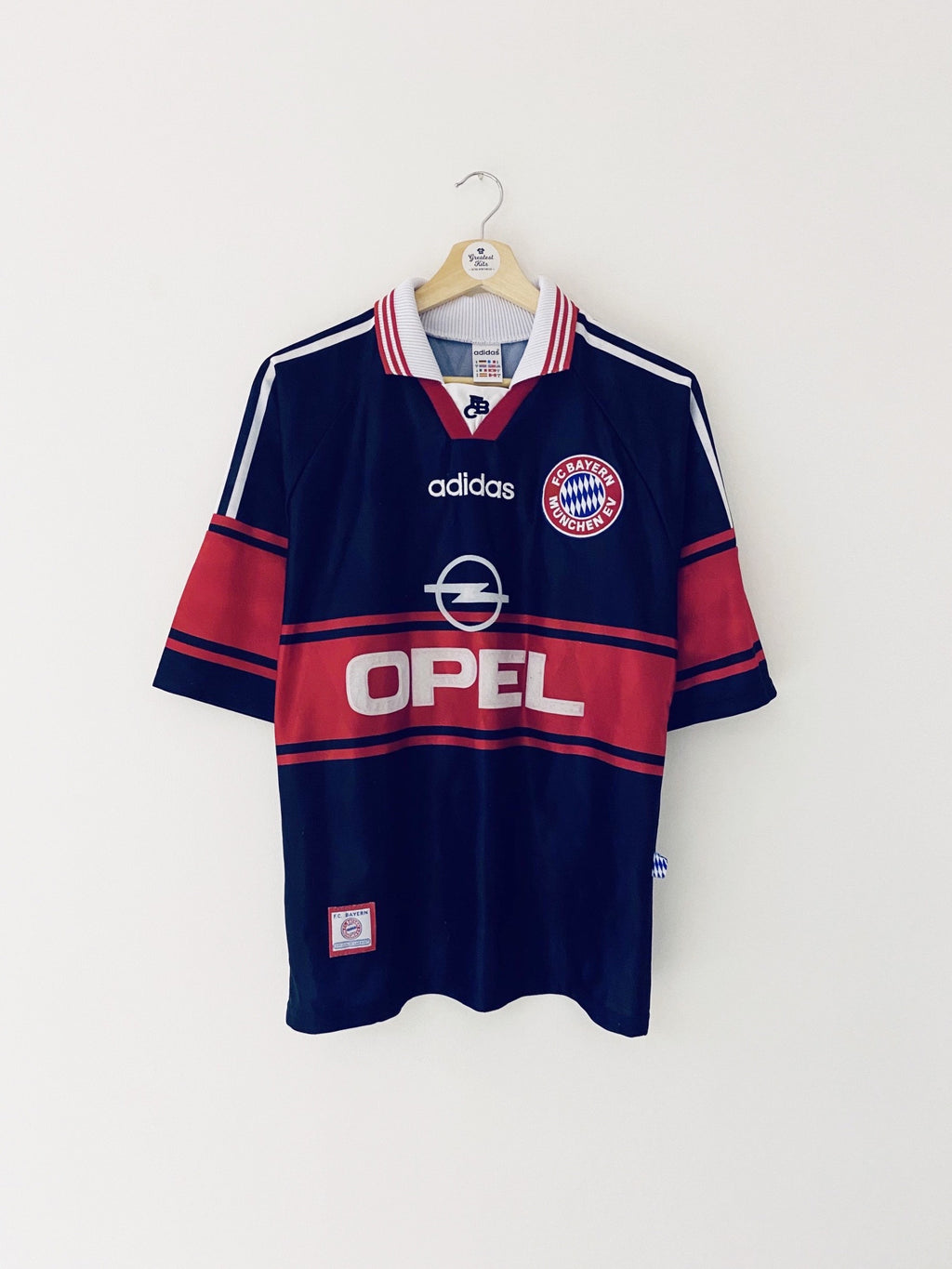 1997/99 Bayern Munich Home Shirt (S) 9/10