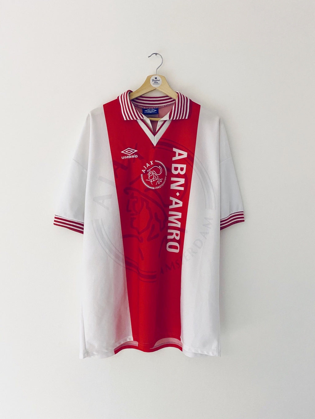 1995/96 Ajax Home Shirt #14 (XL) 8/10
