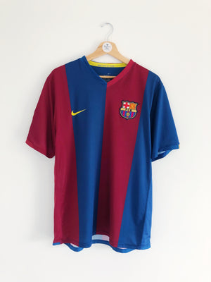 2006/07 Barcelona Home Shirt Messi #30 (L) 9/10